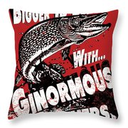 Ginormous Brothers Throw Pillow by JQ Licensing