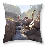 Girls Just Want To Have Fun. Throw Pillow