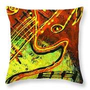 Gitar Throw Pillow