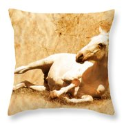 Gitty Up Throw Pillow