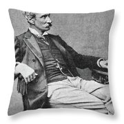 Giuseppe Zanardelli (1824-1903) Throw Pillow