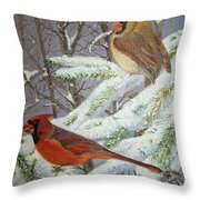 Give Her Wings To Fly Throw Pillow