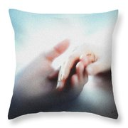 Give Me Your Hand Throw Pillow