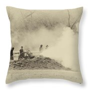 Give Them Hell Boys Throw Pillow