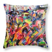Give  Us A Sign Of The Light Of Your Countenance Upon Us 2 Throw Pillow