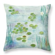 Giverny Dreaming Throw Pillow