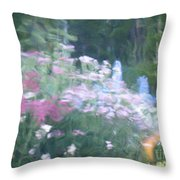 Giverny North Number Nine Throw Pillow