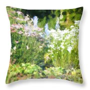 Giverny North Number Three Throw Pillow