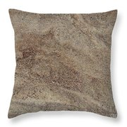 Glacial Glimmer Throw Pillow