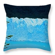 Glaciar Perito Moreno - Patagonia Throw Pillow