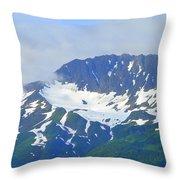 Glacier 1 Throw Pillow