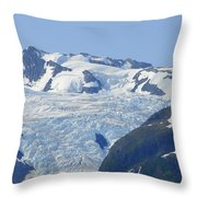 Glacier 12 Throw Pillow