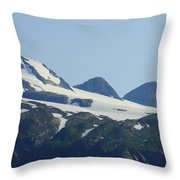 Glacier 17 Throw Pillow