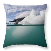 Glacier Bay National Park, Alaska Throw Pillow