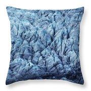 Glacier Ice Throw Pillow