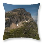Glacier National Park Panorama Throw Pillow