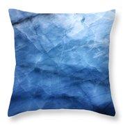 Glacier Of Glass Throw Pillow