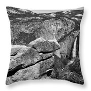 Glacier Point Nw Throw Pillow
