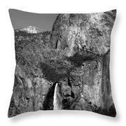 Glacier Point View 1 Throw Pillow
