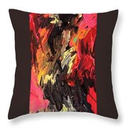 Glacier Shifts Throw Pillow