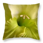 Glad To Be Green Throw Pillow