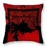 Glance Of All Throw Pillow