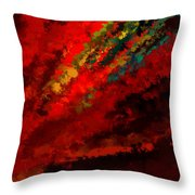 Glance Of Colors Throw Pillow