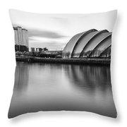Glasgow Armadillo Throw Pillow by John Farnan