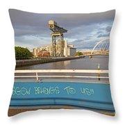 Glasgow Belongs To Us Throw Pillow