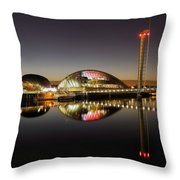 Glasgow Science Centre Throw Pillow