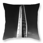Glasgow Tower Throw Pillow