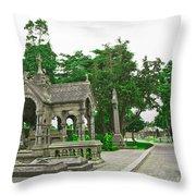 Glasnevin Cemetery 2 Throw Pillow