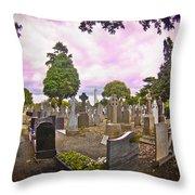 Glasnevin Cemetery Throw Pillow