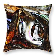 Glass Abstract 125 Throw Pillow