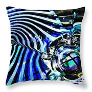 Glass Abstract 132 Throw Pillow