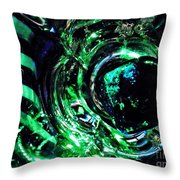 Glass Abstract 143 Throw Pillow