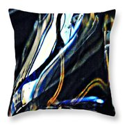 Glass Abstract 150 Throw Pillow