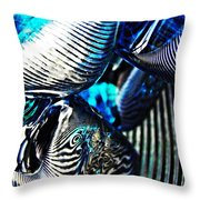 Glass Abstract 157 Throw Pillow