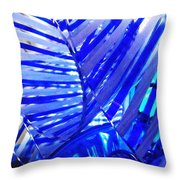 Glass Abstract 223 Throw Pillow