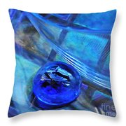Glass Abstract 238 Throw Pillow