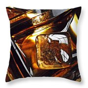 Glass Abstract 318 Throw Pillow