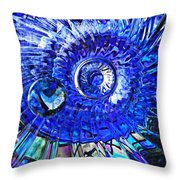 Glass Abstract 478 Throw Pillow