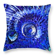 Glass Abstract 479 Throw Pillow