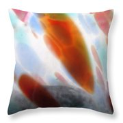 Glass Abstract 5 Throw Pillow