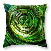 Glass Abstract 575 Throw Pillow