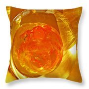 Glass Abstract 580 Throw Pillow
