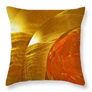 Glass Abstract 582 Throw Pillow