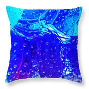 Glass Abstract 603 Throw Pillow