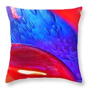 Glass Abstract 610 Throw Pillow