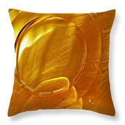 Glass Abstract 639 Throw Pillow